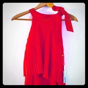 NWT CeCe mango colored dress